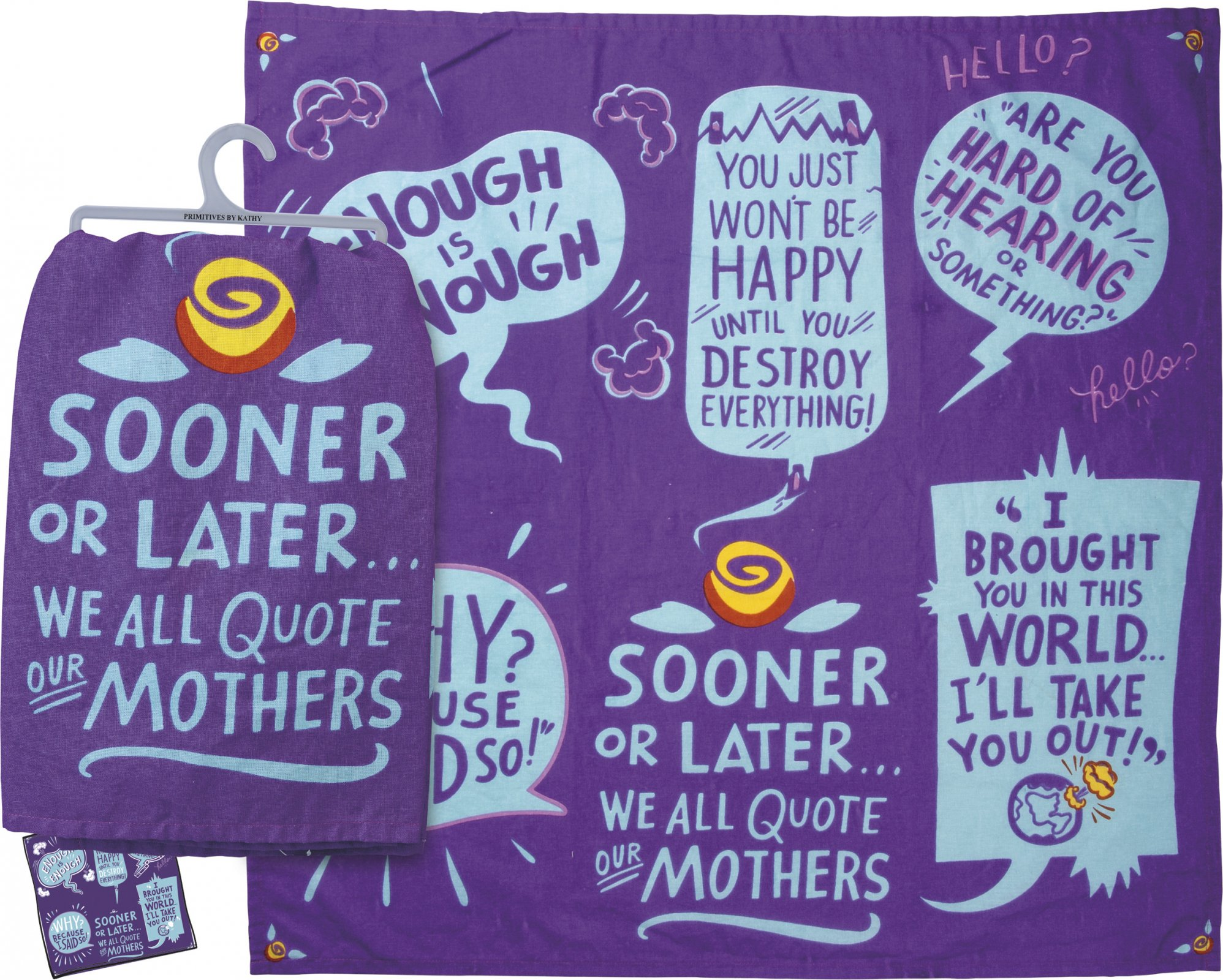 Dish Towel - Quote our Mothers