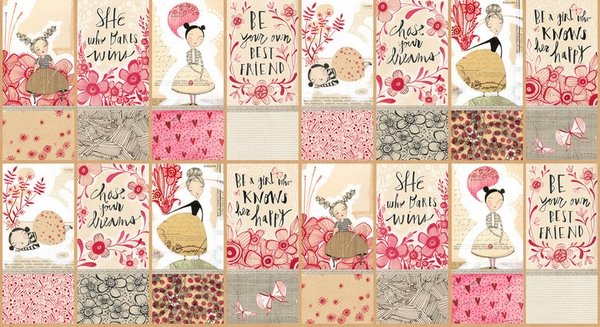 Blend Fabrics Love is Spoken Good Advice 112.121.02.1