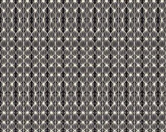 Blend Fabrics Love is Spoken L Buds Black 112.121.05.2