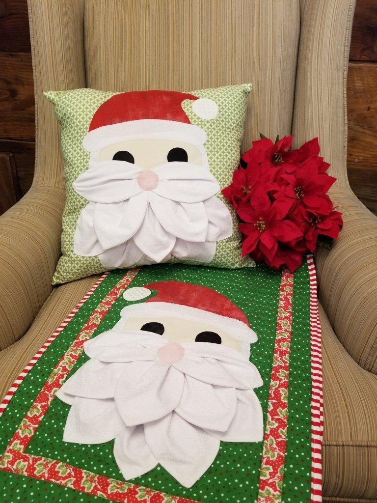 Petal Pop Santa by Sugar Bee Quilts