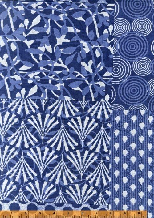 Windham Kantha Blue