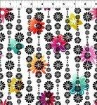 ITB A Groovy Garden Flower Stripe Multi