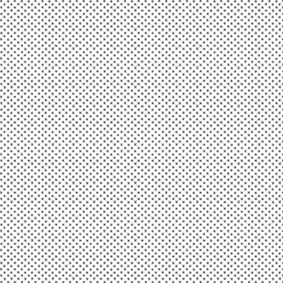 Andover Bumble Bee Basics Asterisk White