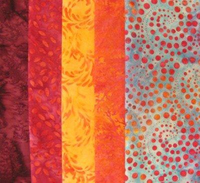 Batik Bundle - 5 Yards - $49.99