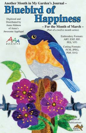 Bluebird of Happiness - AAA Designs
