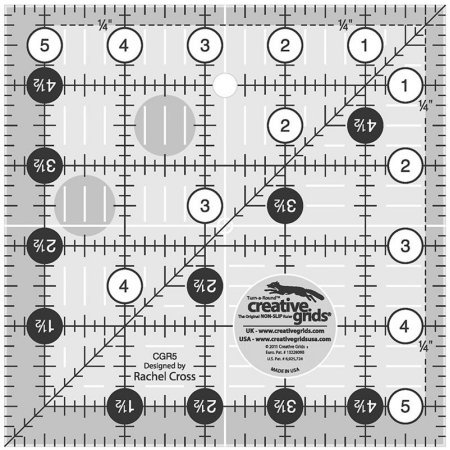 Creative Grids 5-1/2 Square Ruler