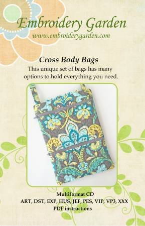Embroidery Garden - Cross Body Bags