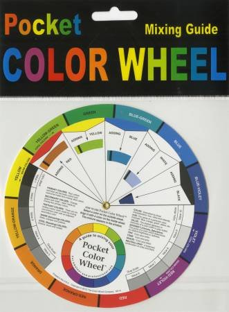 Color Wheel Mixing Guide 5 1/8in