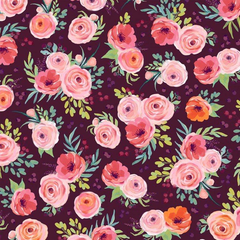 MM Winter Bouquet Plum