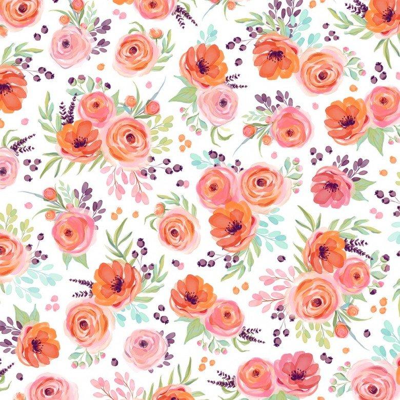 MM Winter Bouquet White