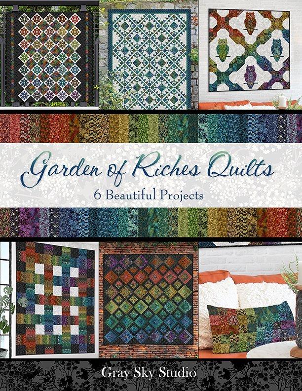 Garden of Riches Quilts Book