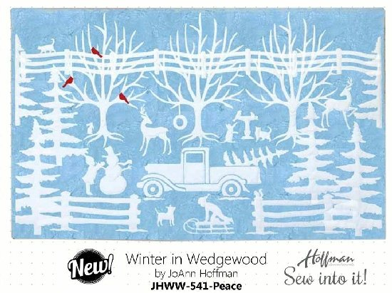 Hoffman Winter in Wedgewood