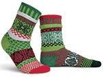 Solmate Socks Mistletoe Small