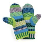 Solmate Mittens Water Lily
