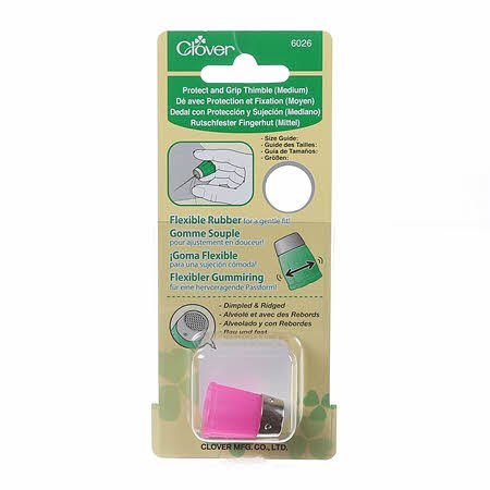 Clover Protect & Grip Thimble Med.