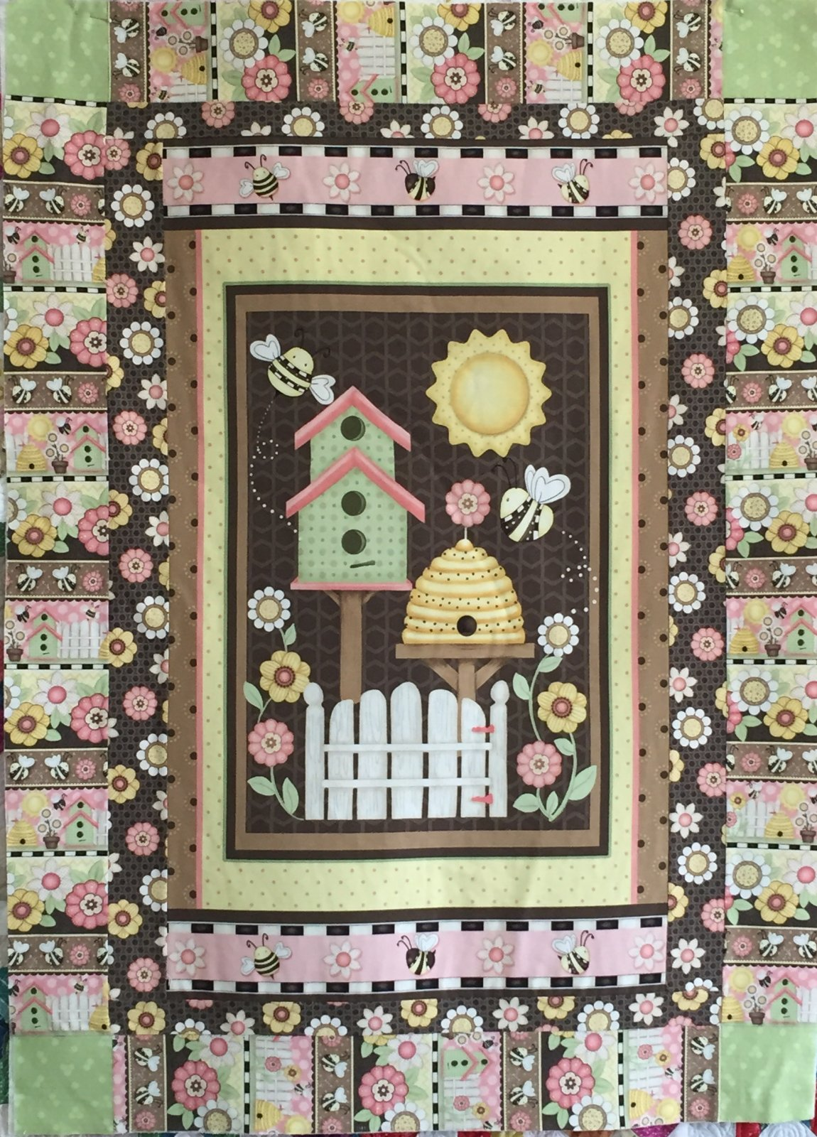 Let It Bee Panel Quilt