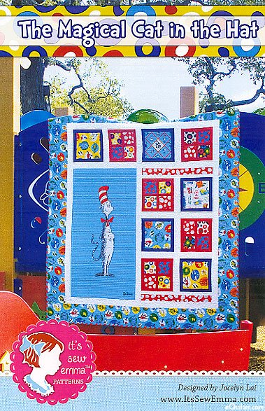 The Magical Cat In The Hat Quilt
