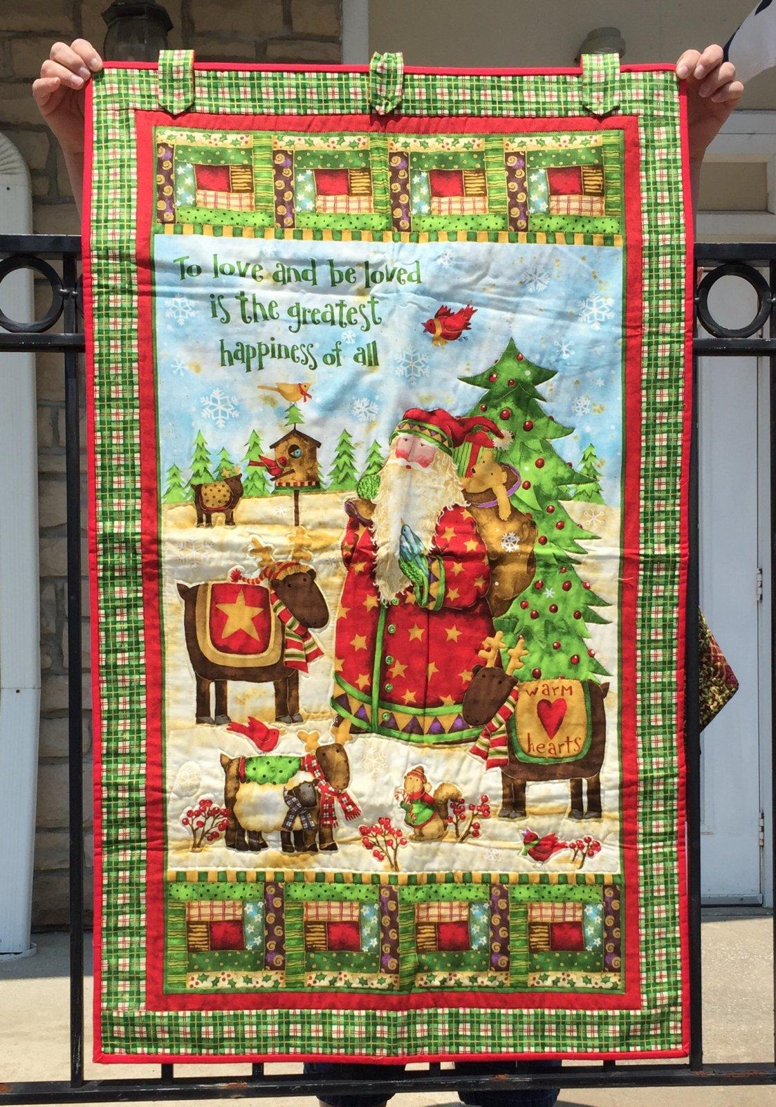 Santa's Journey Panel