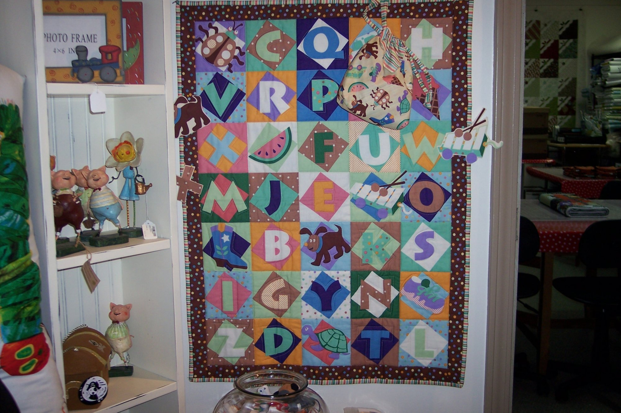 Seek n Find Play Quilt