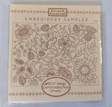 French General Embroidery Sampler