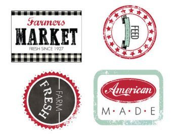 Sweetwater Feed Co.-Iron on Labels Only