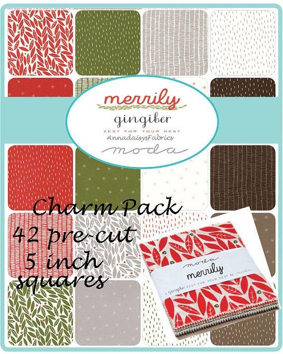 Merrily Charm Pack