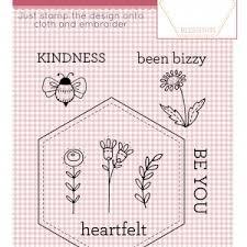 Stamp & Stitch Heartfelt Hexie