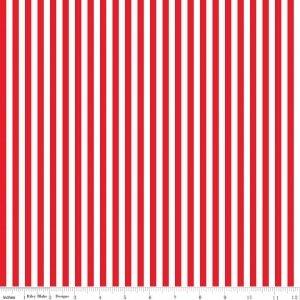 Stripe 1/4 inch red