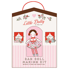 Little Dolly Rag Doll Materials by Elea Lutz