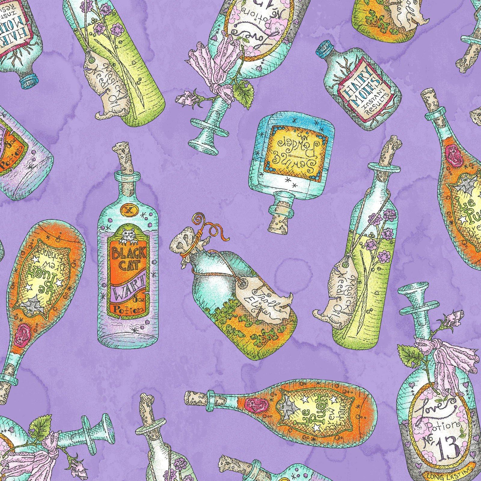 Salem Quilt Show Potion Bottles