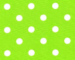 Mod Dots Apple Green Flannel