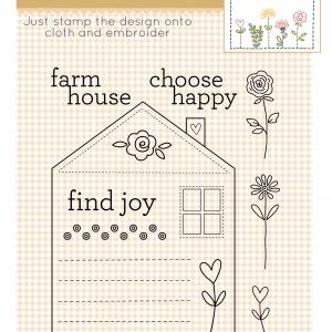 Stamp & Stitch Happy Farmhouse