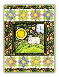 The Four Seasons Spring quilt kit