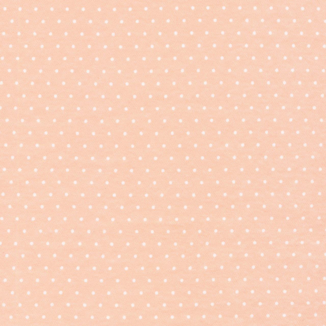 Tout Petit Knit Pink Polka Dot 55