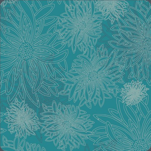 Floral Elements - Capri Blue - AGF