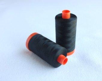 Aurifil 50wt Cotton 2692 Jet Black