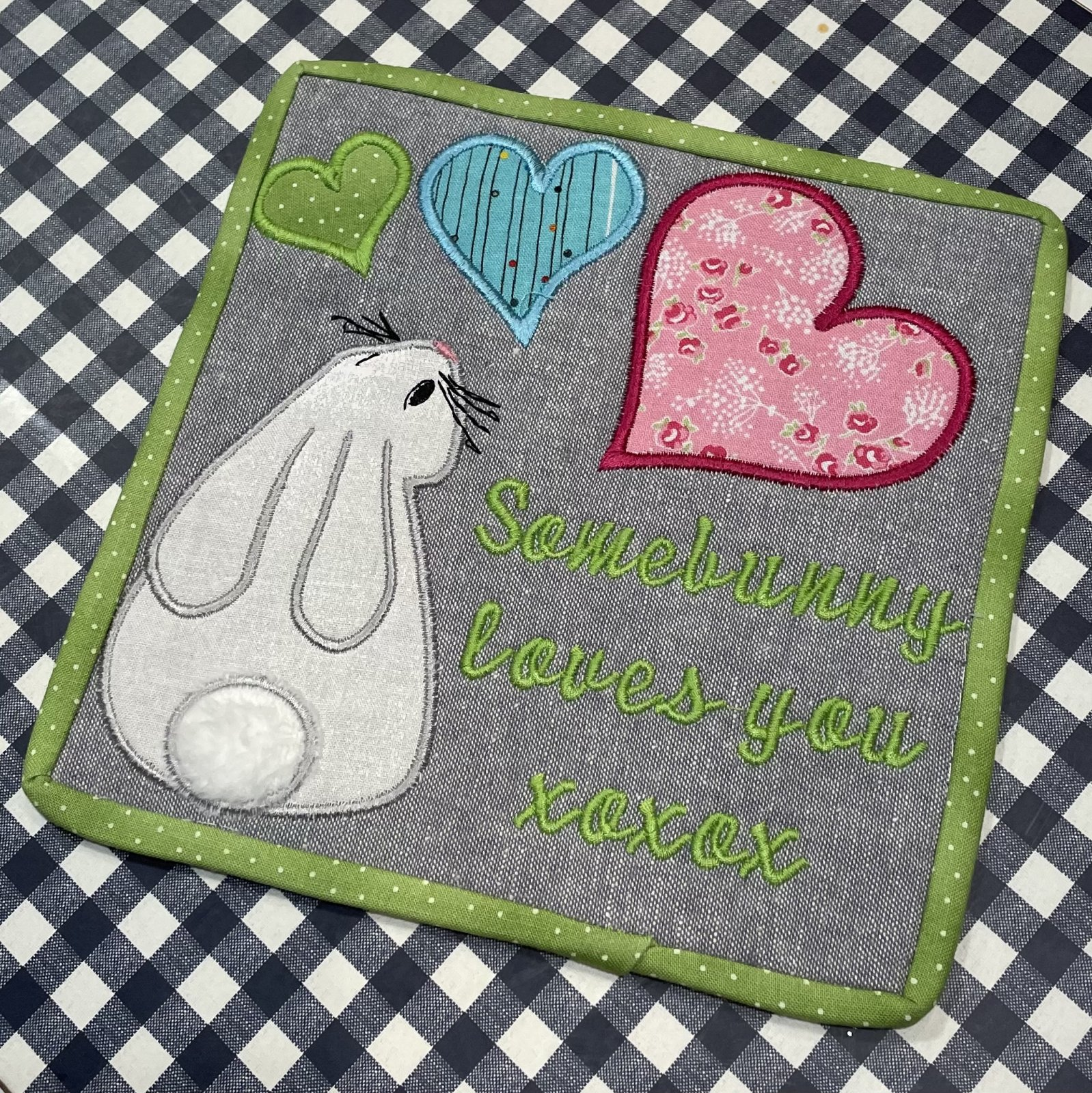 ISTBS Valentine's Bunny In The Hoop Embroidery Download