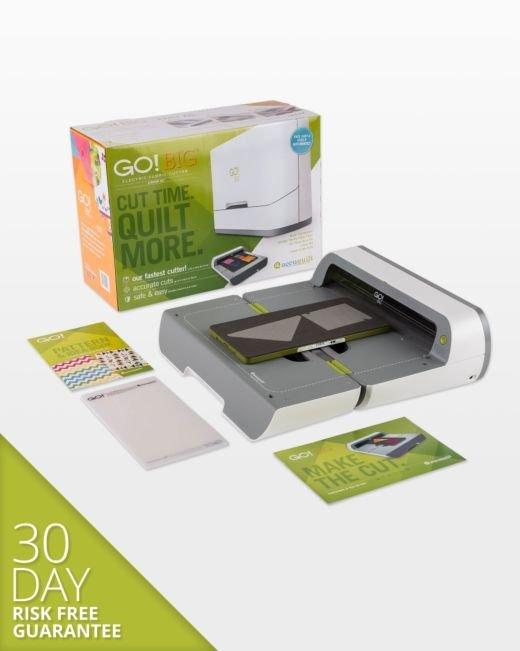 GO!  Big Electric Fabric Cutter Stater Set