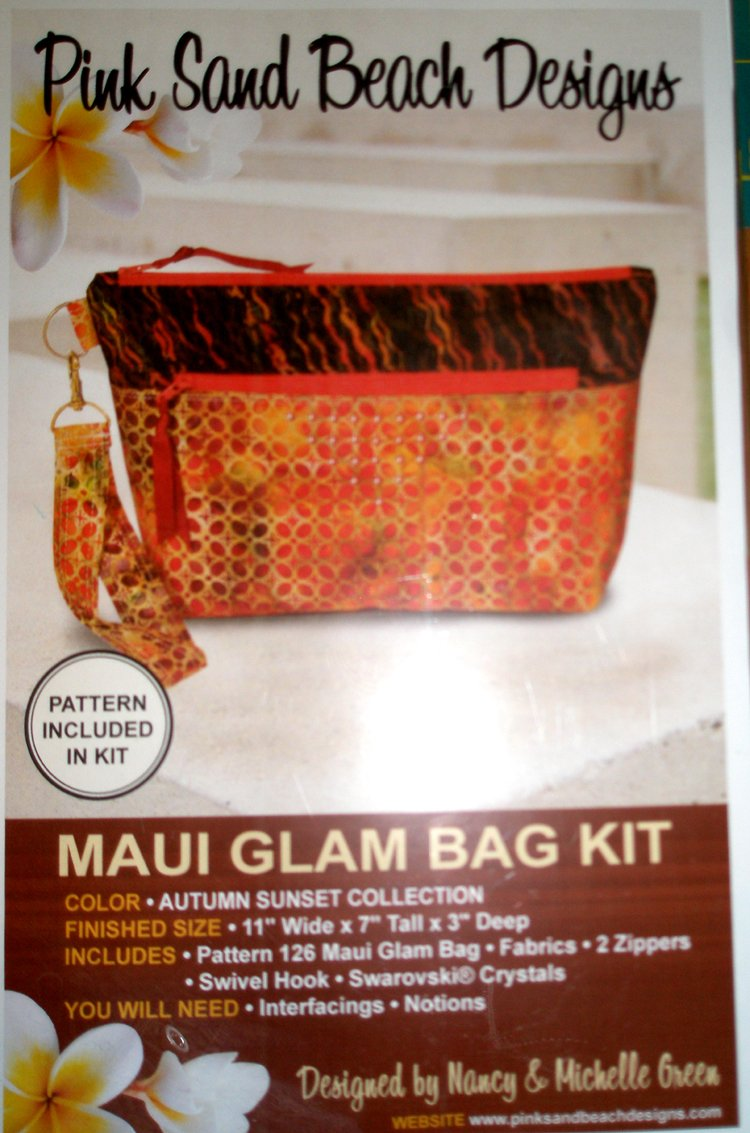 Maui Glam Bag Kit - Autumn Sunset