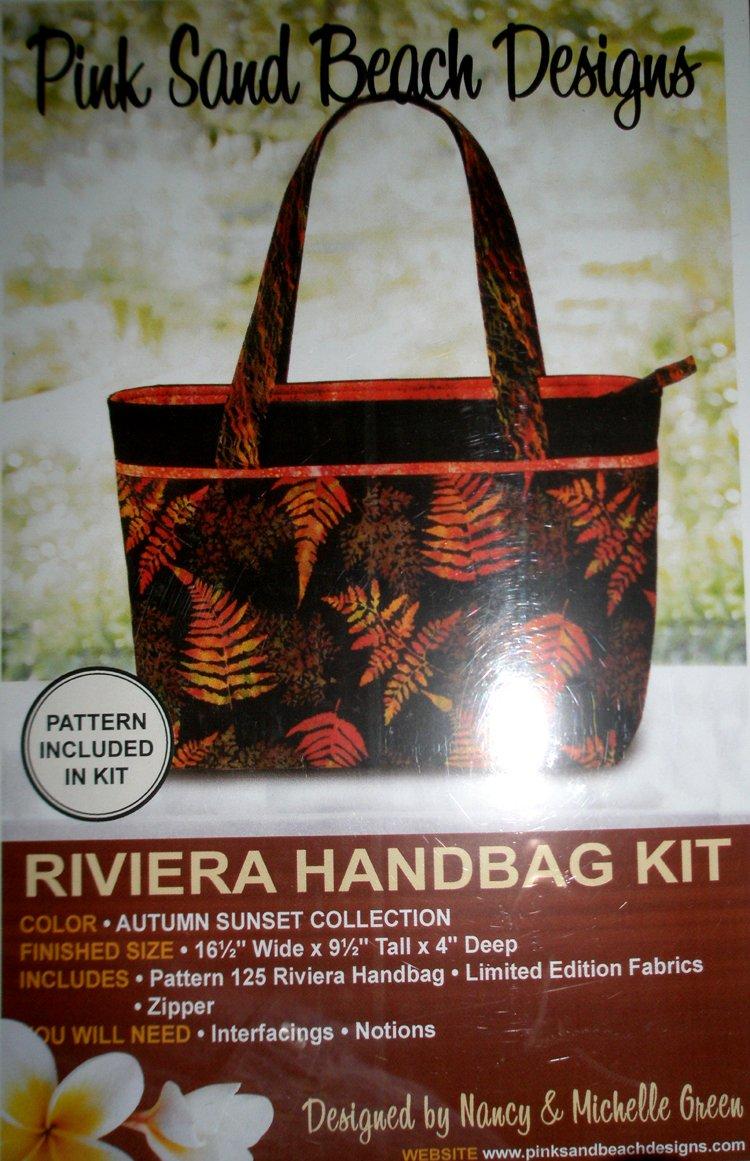 Riviera Handbag Kit - Autumn Sunset