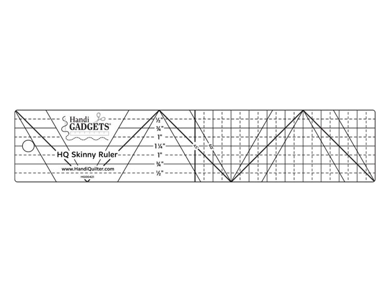 Skinny Ruler  2x10 inch
