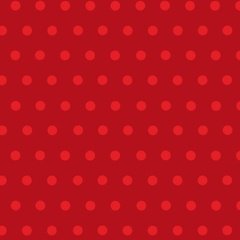 Simple Dots Red 00184