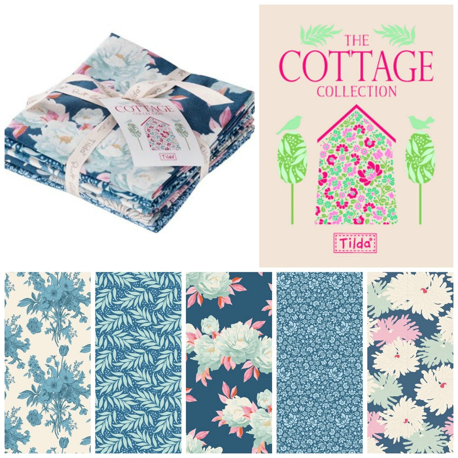 Cottage Charm Pack - Tilda 481576
