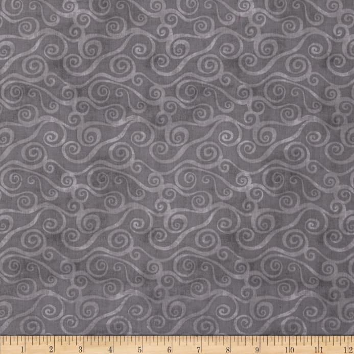 Essentials Swirly Scroll Grey 39081990