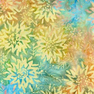 Bali Blooms Sunflower Multi Pastel 09153-02
