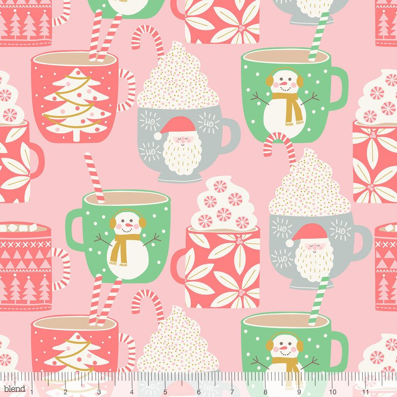 Kringle Sweet Shop Cups of Cocoa Pink 101.114.02.2