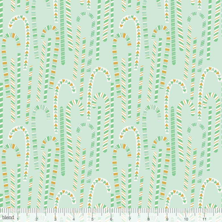 Kringle Sweet Shop Candy Cane Forest Green 101.114.06.2