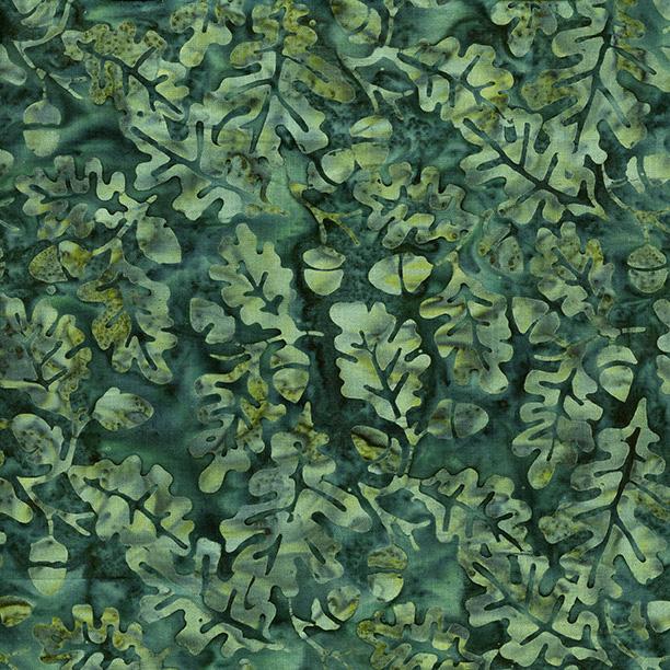 Island Batik Acorn-Teal 121719561
