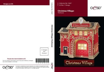 OESD - Christmas Village Firehouse 12647CD - 12647