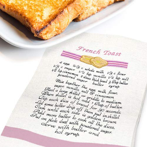 Breakfast Recipe Towels